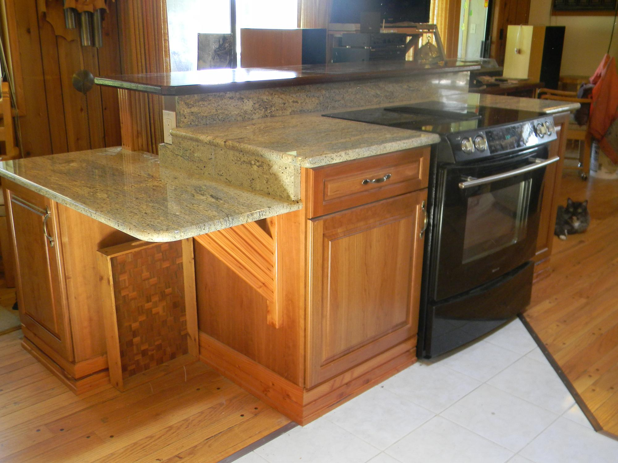 Accessible kitchenswheelchair kitchen design handicapped for Wheelchair accessible homes